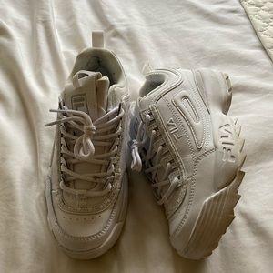 Fila distressor sneaker